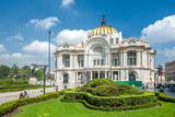 Palacio De Bellas Artes, Mexico City Fotografie-Druck von  javarman