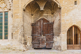 Old Doors at Popes Palace in Avignon, France Photographic Print by  Marcus