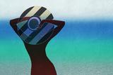Girl and on the Beach Arte por  vipa21