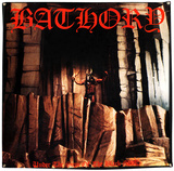 Bathory Under The Sign Of The Black Mark Flag Poster