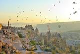 Cappadocia, Turchia, Camini Delle Fate Di Goreme Fotografie-Druck von  frenk58