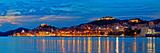 Historic Sibenik Waterfront Evening Panorama Fotografisk trykk av  xbrchx