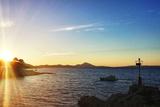 Sunset in Croatia Photographic Print by  sanjanjam
