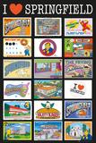 The Simpsons Postcards Julisteet