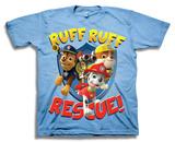 Toddler: Paw Patrol- Ruff Ruff Rescue Camisetas