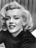 Actress Marilyn Monroe at Home Metalltrykk av Alfred Eisenstaedt