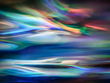 Lago azul Arte sobre metal por Ursula Abresch