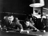 The Hustler, Jackie Gleason, Paul Newman, 1961 Metalltrykk