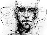 Lines Hold The Memories Metalltrykk av Agnes Cecile
