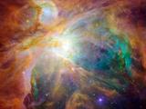 SPAC1 3 Orionnebel Metalldrucke von  Stocktrek Images