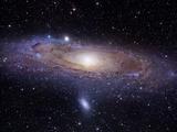 Die Andromedagalaxie Metalldrucke von  Stocktrek Images