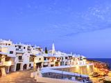 Spain, Balearic Islands, Menorca, Fishing Village of Binibequer Vell Metalldrucke von Michele Falzone