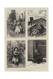 The Four Seasons Giclee Print by Adrien Emmanuel Marie