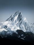 Chamonix, Haute Savoie, Alps, France Konst på metall av Jon Arnold