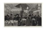 Leadenhall Market at Christmas Time Impressão giclée por Adrien Emmanuel Marie