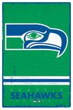 Seattle Seahawks - Retro Logo 15 Posters