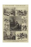 Giuseppe Garibaldi Impressão giclée por Adrien Emmanuel Marie