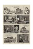 An English Settler's Home in Manitoba Impressão giclée por Adrien Emmanuel Marie