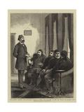 The Eastern Question Impressão giclée por Adrien Emmanuel Marie