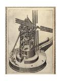 Windmill Giclee Print by Agostino Ramelli