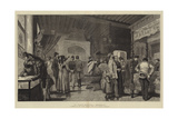 A Continental Sunday Giclee Print by Adrien Emmanuel Marie