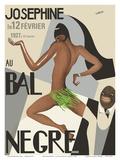 Josephine Baker - Au Bal Negra (The Black Ball) - le 12 Février 1927 (February 12, 1927) Posters