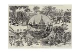 Campaigning in Upper Burma Giclee Print by Adrien Emmanuel Marie