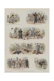 The Capture of an Heiress Impressão giclée por Adrien Emmanuel Marie