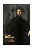 Ugolino Martelli (1519-1592). 1536-1537. Portrait by Il Bronzino (1503-1572) Lámina giclée por Agnolo Bronzino