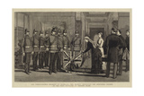The Twenty-Fourth Regiment at Isandlana Giclee Print by Adrien Emmanuel Marie