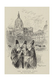 The Sorbonne, Paris Giclee Print by Albert Robida