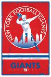 New York Giants - Retro Logo 15 Print