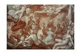 A Feast of the Gods, 1598 Lámina giclée por Abraham Bloemaert
