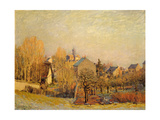 Frosty Morning in Louveciennes, 1873 Giclee Print by Alfred Sisley