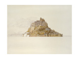 Mont St Michel from the Sands, C. 1876 (Watercolour over Graphite, on Paper) Giclee Print by Alfred William Hunt