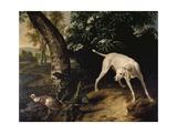 Hunting Scene Giclee Print by Alexandre-Francois Desportes