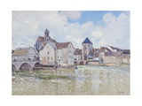 Le Pont De Moret, 1888 Giclee Print by Alfred Sisley
