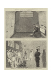 Prison Life in England, Part II Impressão giclée por Alfred Chantrey Corbould