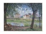 Villeneuve-La-Garenne, 1872 Giclee Print by Alfred Sisley