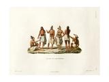 Natives of the Island of Rotuma Giclee Print by Ambroise Tardieu