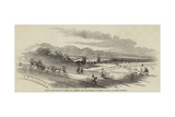 Scene of the Railway Accident, at Chester, the Dee Viaduct Giclee Print by Alfred William Hunt