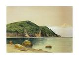 Rocky Shore Giclée-tryk af Alfred Thompson Bricher
