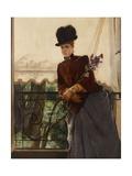 Portrait of Mademoiselle Dubois, 1884 Giclee Print by Alfred Emile Stevens