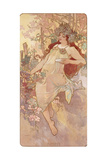 Autumn; Automne, C.1896 Lámina giclée por Alphonse Mucha