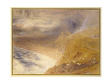 Harlech Castle, 1857 Giclee Print by Alfred William Hunt
