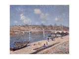 The Beach at Saint-Mammès, 1884 Giclee Print by Alfred Sisley