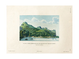 View of the Southern Part of Maupiti and the Village of Atipiti Giclee Print by Ambroise Tardieu
