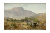 Capel Curig, 1855 Giclee Print by Alfred William Hunt