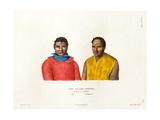 Mai and Téffaanora Giclee Print by Ambroise Tardieu