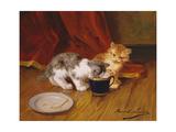 Tea-Time Giclee Print by Alphonse Marie de Neuville